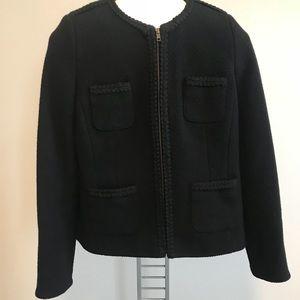 Boden Wool Full Zip Blazer